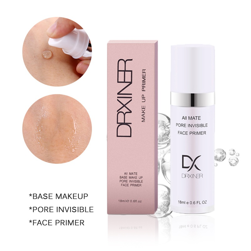 18ml Whole Face Makeup Primer Water Based Cream Before Make Up Extract Moisturizer Lips Pre Makeup Prime