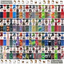Экспресс-, 500 шт,, новейший дизайн, бесшовные многофункциональные головные уборы, уличная бандана для верховой езды, шейный шарф