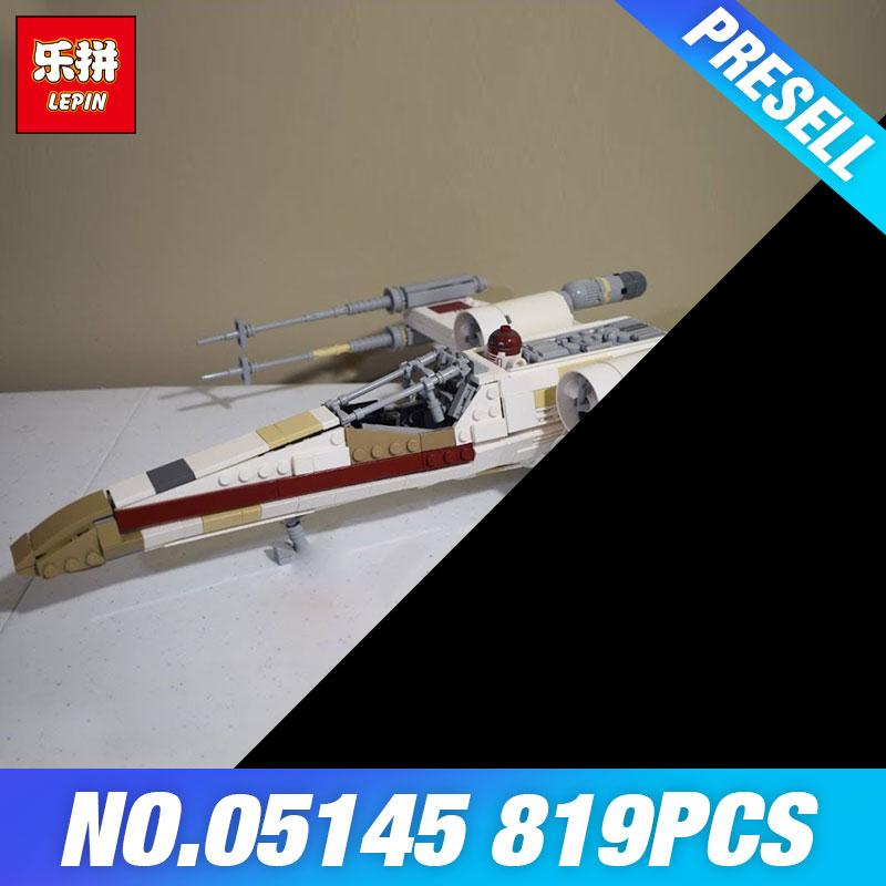 Lepin 05145 Star Plan wars The 75218 X-wing Star Plan Fighter Set Building Blocks Bricks Kids DIY Toys Christmas Birthday Gifts 2015 the plan