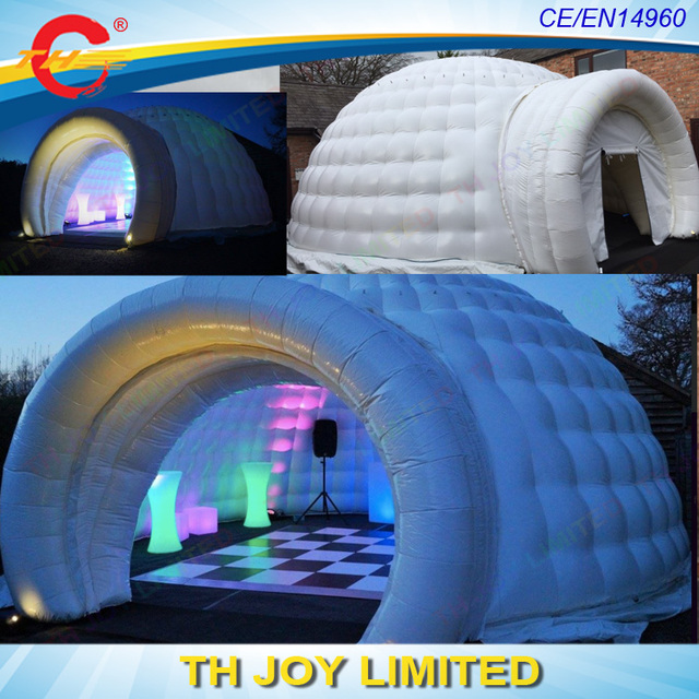giant outdoor igloo inflatablegiant inflatable igloo dome tent garden igloo tent with led light & giant outdoor igloo inflatablegiant inflatable igloo dome tent ...