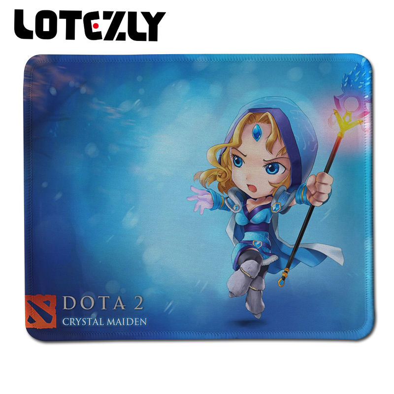 Stitched Edge Soft Rubber Optical Black Comfort Gaming Mouse Mat Computer PC Laptop Mice Pad For Dota2 Gamer Speed Mousepad