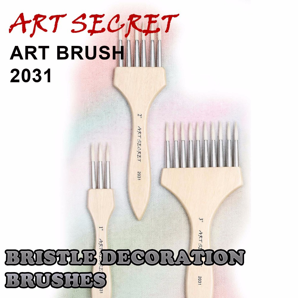 High Quality Paint Art Brushes For Artist Drawing Pengil Ovegrainer Brush 2031