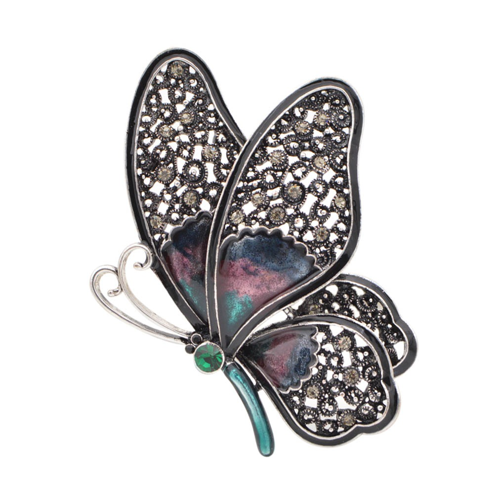 ea7404f354 Hot Sale] Newest Natural Animals Jewelry Brooch Pins Butterfly Bee ...