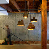 Retro Industrial Warehouse Pendant Lights American Country Lamps Vintage Lighting For Restaurant Bedroom Home Decoration Black