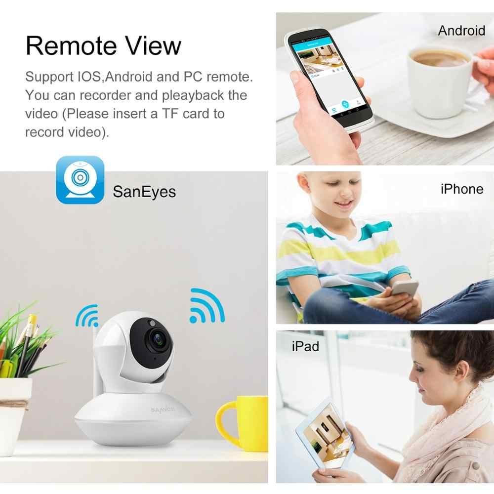 SANNCE Full HD 1080P CCTV камера безопасности P2P IR ночного видения 2MP беспроводная домашняя камера видеонаблюдения сеть wifi детский монитор