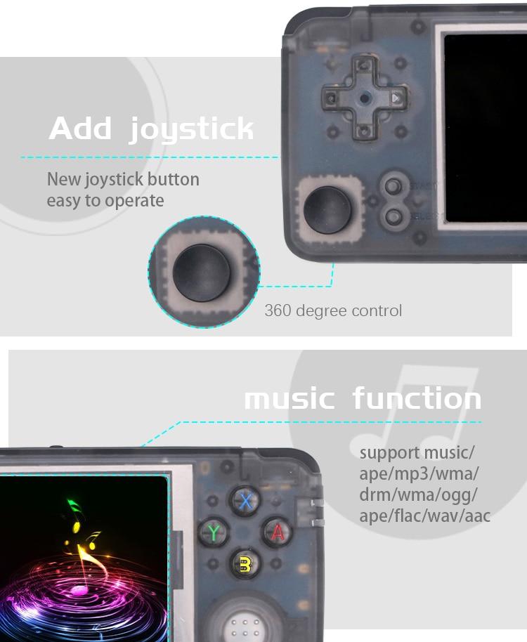 Flash Sale] 2019 Upgraded Retro Game Console 64bit 3 0inch