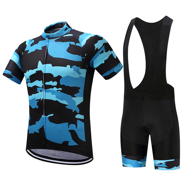 FUALRNY Kairos 2018 100% Polyester Quick-Dry Cycling Jerseys Set Mans Bicycle  Wear Mountain Bike Clothing Ropa Ciclismo 6b33b0848