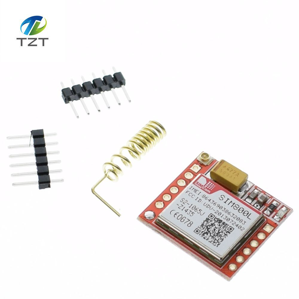 10pcs Smallest Sim800l Gprs Gsm Module Microsim Card Core Board Quad Band Tx Modules Ttl Serial Port In Integrated Circuits From Electronic Components Supplies On