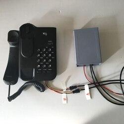 Live kamer escape russische kamer escape game prop TAKAGISM game Horrible telefoontje dial rechts wachtwoord open EM slot telefoon prop
