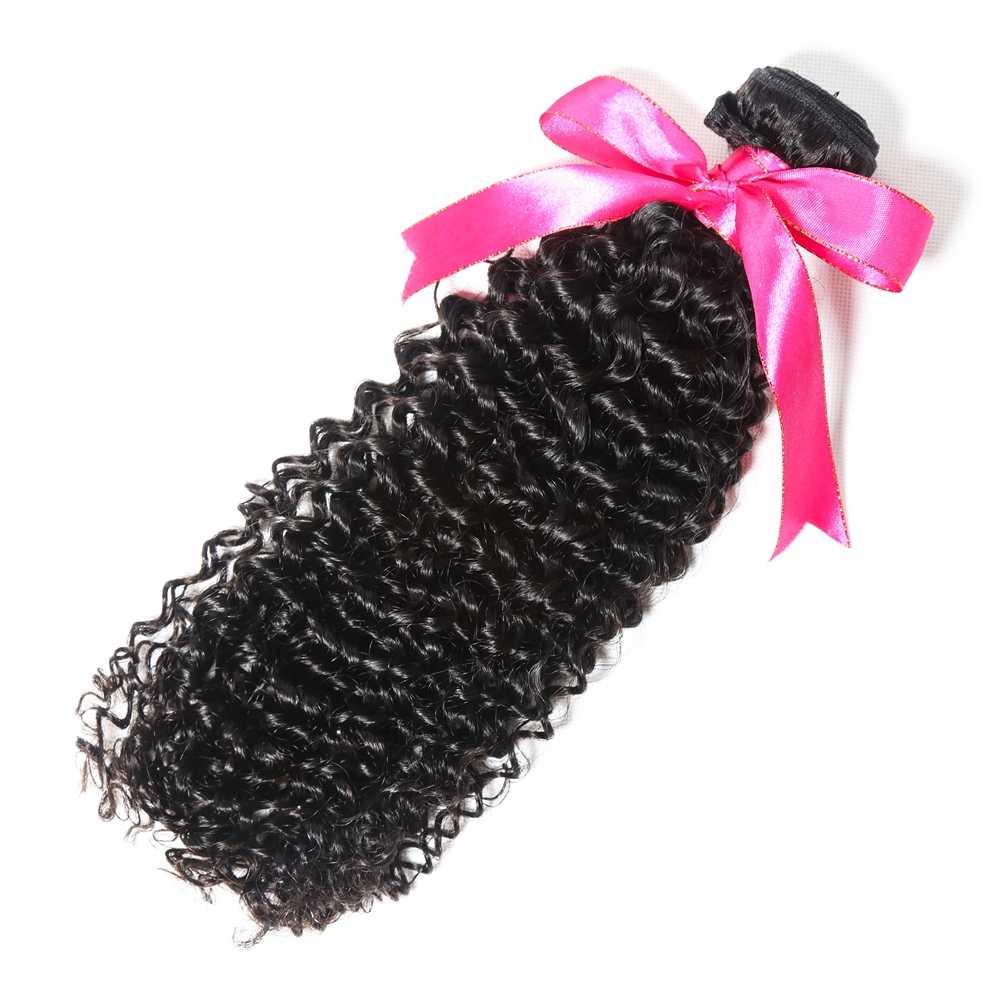 Перуанские вьющиеся пучки человеческих волос с закрытием шнурка 4 шт./лот remy волосы для наращивания натуральный цвет Бесплатная доставка BD волосы