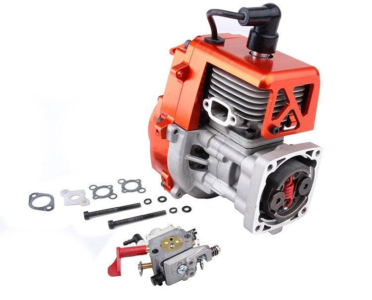 CNC metal appearance suite to four fixed 30.5 CC engine (Walbro carburetor, NGK spark plug) for baja 5b/5t/5sc 81013