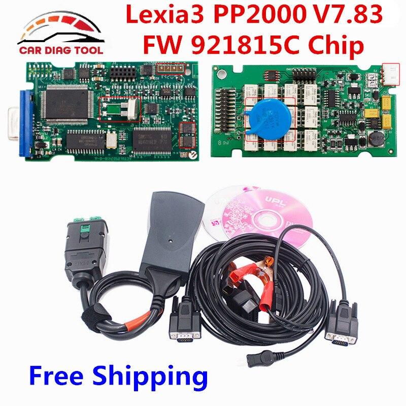 imágenes para 2017 Envío Gratis V7.83 Firmware 921815C Lexia3 PP2000 Lexia Diagbox 3 Lexia-3 V48 V25 PP2000 PSA XS Evolution de Diagnóstico OBD2 herramienta