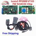2017 Free Ship Diagbox V7.83 Lexia3 PP2000 Firmware 921815C Lexia 3 V48 PP2000 V25 Lexia-3 PSA XS Evolution OBD2 Diagnostic Tool