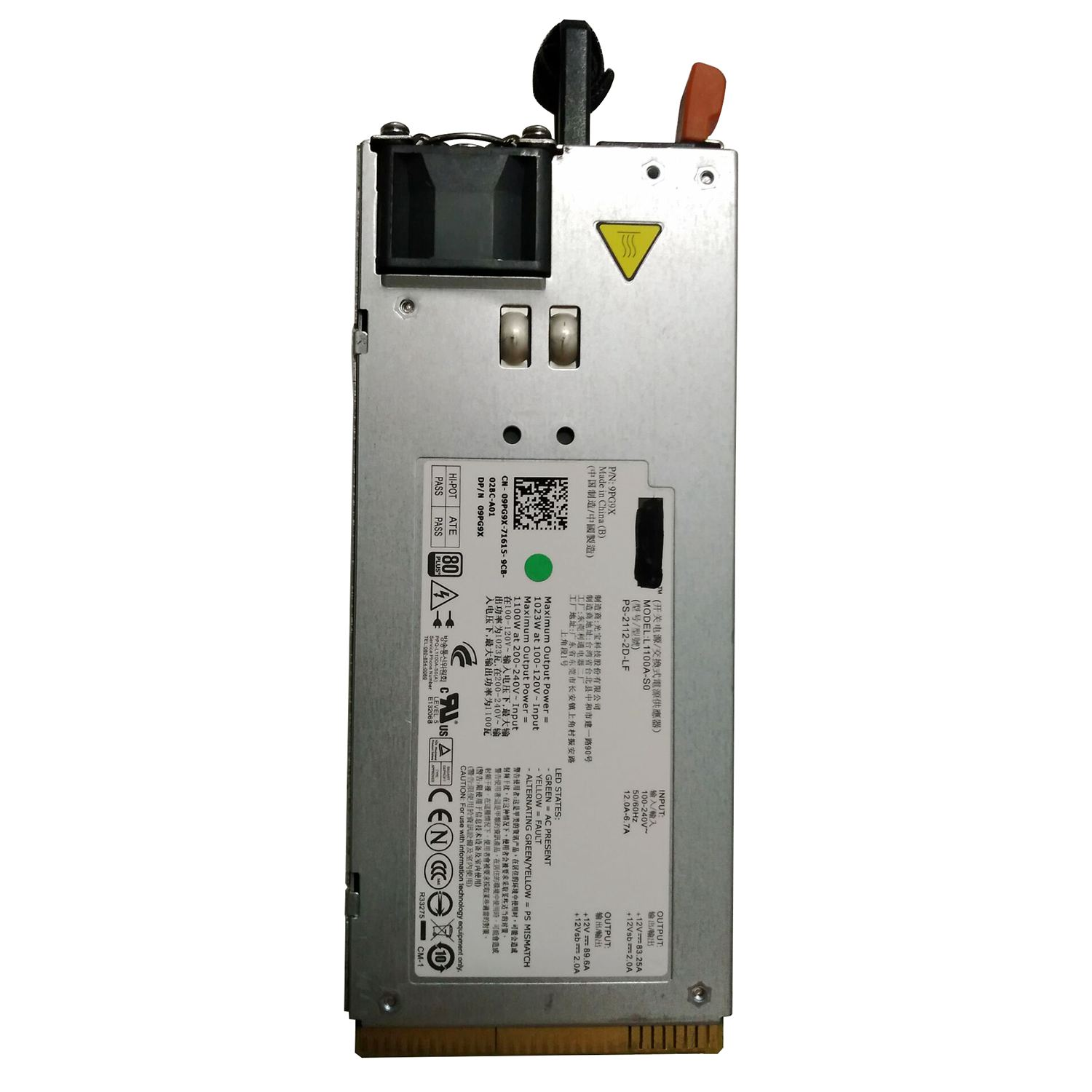 Top Deals FOR DELL 1100W POWER SUPPLY F6V5T цена и фото