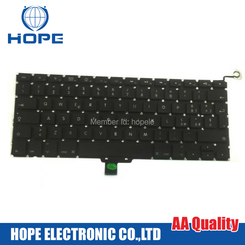 Original Italy Keyboard For Apple Macbook Pro 13'' A1278 Italian 2009 2010 2011 2012