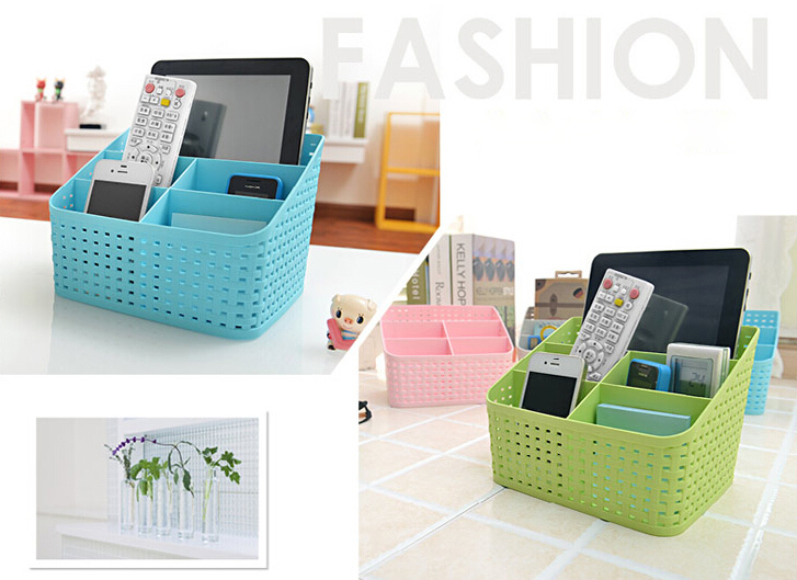 Aliexpress.com : Buy Cute Desk Organizer Jewelry Storage Bins Makeup  Cosmetic Desk Accessories Holder Statonary Storage Container from Reliable