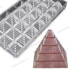 2.8×2.8cmx21cups Pyramide Form Schokolade Klar Polycarbonat Plastikform, DIY Handgemachten Schokolade PC Mold, Schokolade Werkzeuge, Qualität