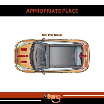 Auto Camion Interni ed Esterni In Gomma Trim Weatherstrip Striscia di Tenuta Pilastro Auto Controllo del Rumore Proctor Modanatura