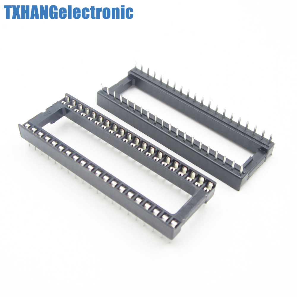 100PCS 40 pin DIP IC Socket Adaptor Solder Type Socket Pitch Dual Wipe Contact100PCS 40 pin DIP IC Socket Adaptor Solder Type Socket Pitch Dual Wipe Contact