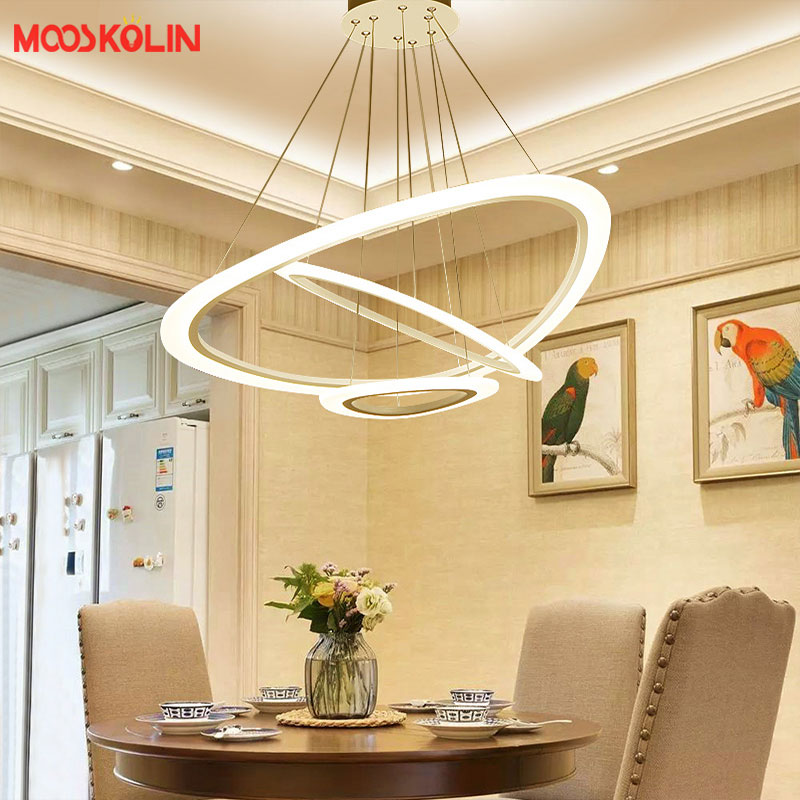 New Modern Pendant LED lights for Office Dinning Living room Restaurant Kitchen Lighting AC85-260V Cord Hanging Pendant lamp modern tiffany glass led pendant lights lamp fixtures e27 220v for decor dinning room kitchen bar restaurant home lighting