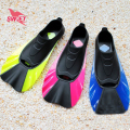 Short Adult Silicone Swimming Fins 2016 Men Women Monofin Flippers Scuba Diving Paddles Sea Beach Socks Surf Shoes Water Sports
