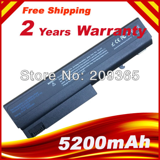 5200MAH Laptop Battery For <font><b>HP</b></font> Compaq 6710b 6710s 6715b 6715s 6910p <font><b>6510b</b></font> 6515b NC6100 NC6105 NC6110 NC6115 NC6120 image