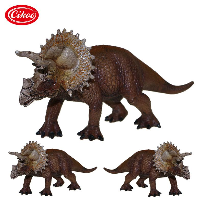Jurassic World Park Dinosaur Toy Plastic Animal Model Simulation Triceratops Action Figure Toys Kids Gifts wiben jurassic carcharodontosaurus toy dinosaur action