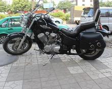 Free shipping motorcycle conversion Bag box hanging box side edging tool kit-bag Motorcycle saddle bag / black