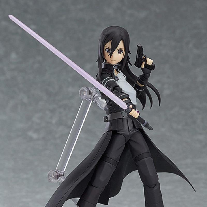 Game Kirigaya Kazuto Toy Action Sword Art Online Kirito Figures Toys Asuna Animation Kids Sword Art Online Gift In Box Anime Toy посуда для приготовления пищи