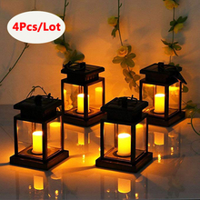 Solar Candle Light Hanging Umbrella Lights Portable Lantern Garden Lamp Flameless Candles Flickering Home Candlelight Dinner цены