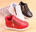 2015 Новые Кожаные Ботинки Малышей Для Детей Обувь Для Девочек Обувь Для Мальчиков обувь для Детей, Квартиры Chaussure Enfant, повседневная Zapatos Нины