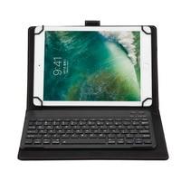 Ultra Thin Aluminum Split Wireless Bluetooth Keyboard Leather With Case Universal Hot