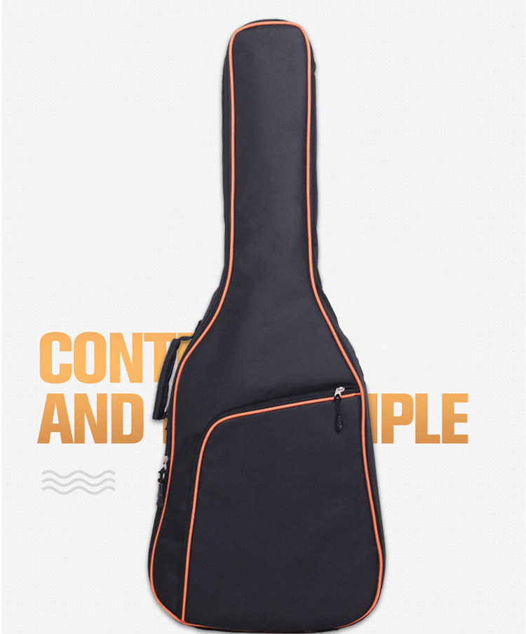 Thicken Folk Flattop Acoustic Classical 38 39 40 41 Guitar Bag Case Waterproof Backpack Guitarra Bass Accessories Carry Gig 40 41inch acoustic classical guitar bag case backpack adjustable shoulder strap portable 4mm thicken padded black