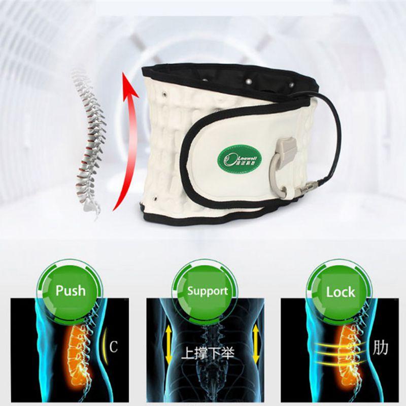 Comme On le voit à la télévision Leawell électronique santé musculation soulagement des douleurs dorsales ceinture de Massage vibrant mince beauté ceinture masseur 1 pièce