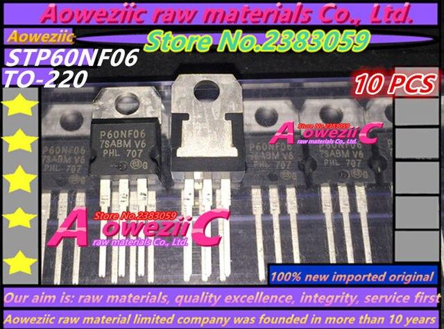Aoweziic 2017 + 100 ٪ الجديدة المستوردة الأصلي P60NF06 STP60NF06 إلى 220 FET MOSFET 60V60A