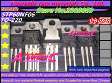 Aoweziic 2017 + 100% nowe importowane oryginalne P60NF06 STP60NF06 do 220 FET MOSFET 60V60A