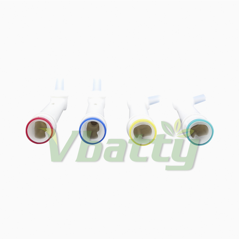 1012 4pc/pack Electric Toothbrush Replacement Brush Heads flexible for Oral-B IP-17A