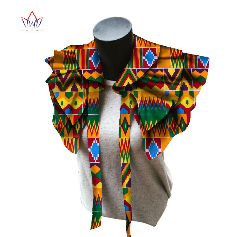 BRW 2019 Fabric African Necklaces for Women Shawl African Chokers Necklaces Print Ankara Tribal Handmade False Collar WYB257BRW 2019 Fabric African Necklaces for Women Shawl African Chokers Necklaces Print Ankara Tribal Handmade False Collar WYB257