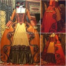 Custom-madeR-646 Vintage disfraces 1860 s guerra Civil Southern Belle Ball vestido de boda/Vestido gótico Lolita vestidos victorianos