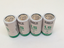 4pcs/lot New Genuine SAFT LS26500 26500 C 3.6V 8000MAH Lithium Battery Non-rechargeable (LS26500) Batteries Free Shipping
