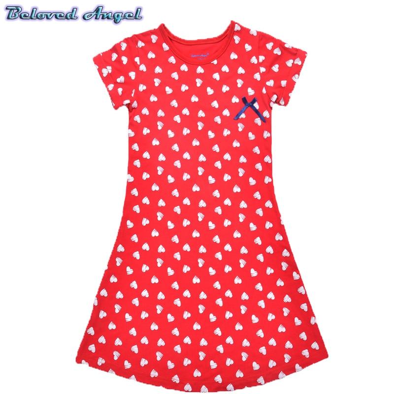 Toddler Girls Dress 2019 Kids Summer Dresses for Girls Clothes 100%Cotton Children Tunic Jersey Princess Dress for Party Wedding 5