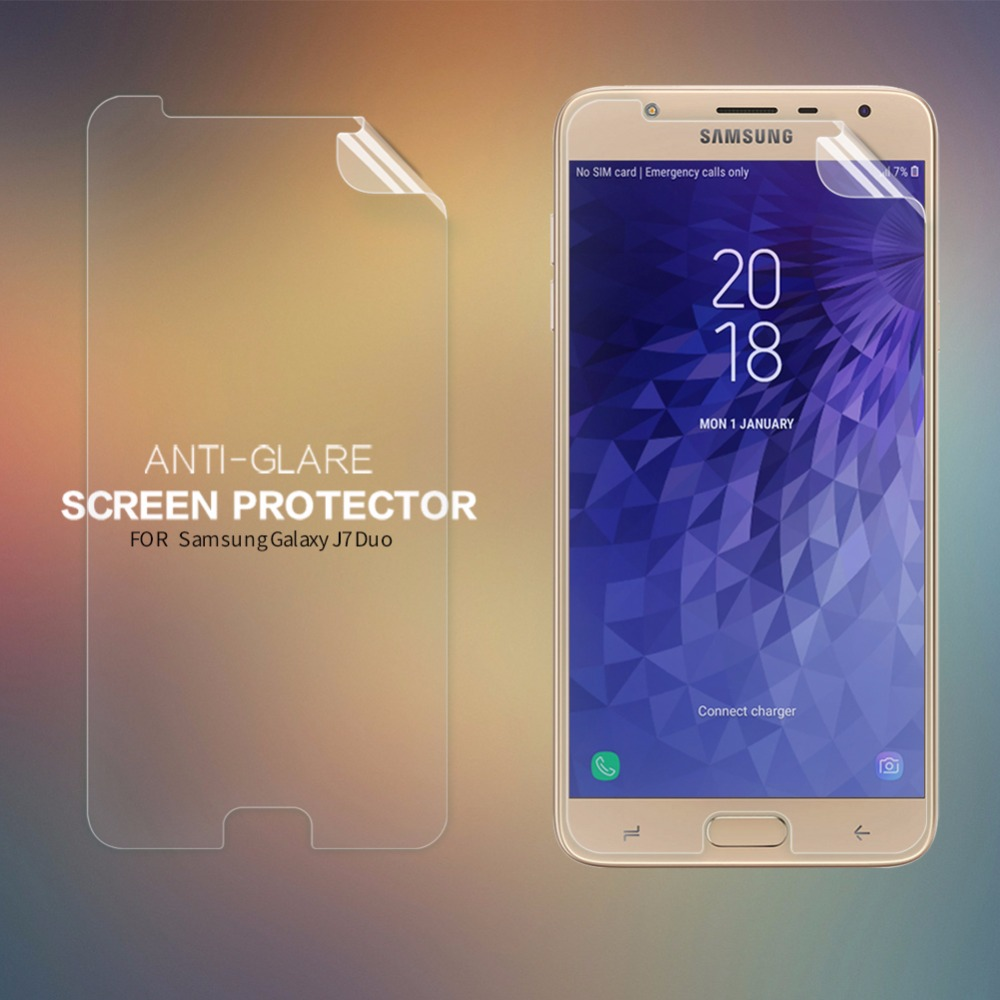 2 pcs/lot NILLKIN screen protector for Samsung Galaxy J7 Duo Anti-Glare Matte protective film for SAM J7 Duo ...