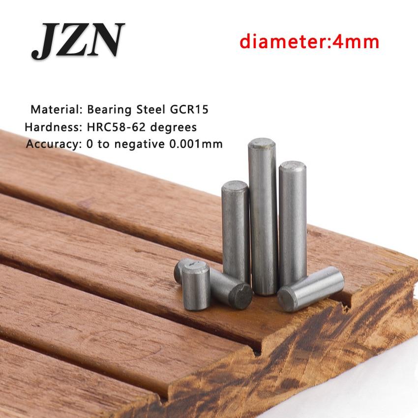 100pcs/lot Dia 4*4 5 6 7 8 10 12 13 14 15 16 18 20 22 24 25 Bearing Steel Cylindrical Pins - Dowel Pins-Needle-Positioning Pin