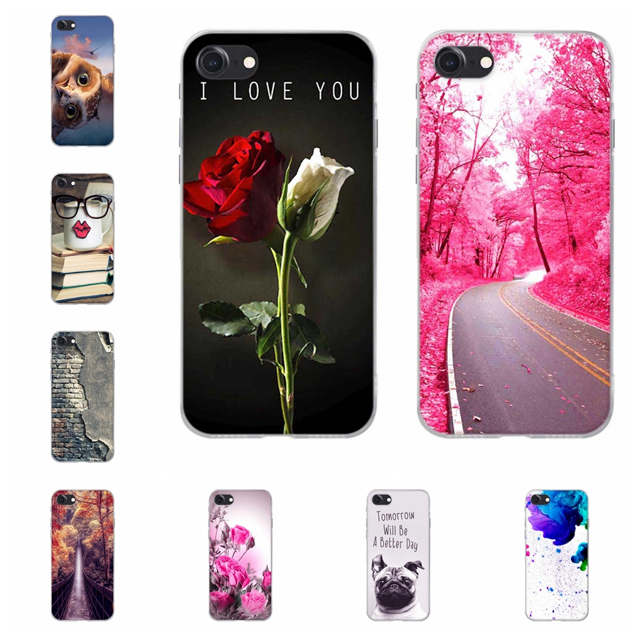 6a04f20dfd ⃝Caso Para o iphone 7 Iphone 8 Capa de Silicone TPU Macio Para ...