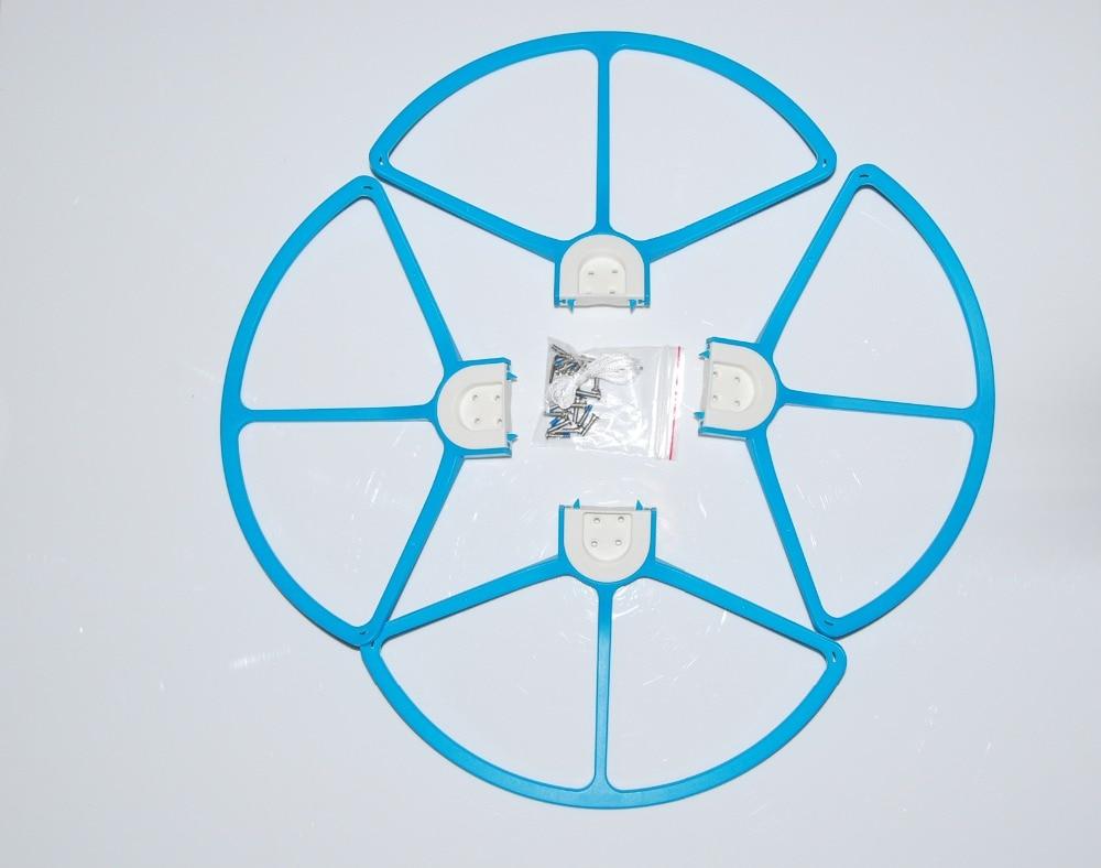 4x Propeller Guard Protectors Prop Ring for DJI Phantom 1 2 3 Adavanced Blue
