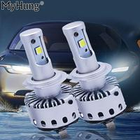 Super Bright Auto Universal Headlight 7S H4 9003 HB2 160W 12000Lms High Intensity LED Headlamp