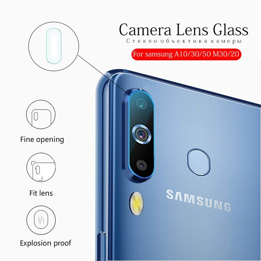 2PC 31D Camera Lens Film Protective Glass On The For Samsung Galaxy A 10 20 30 50 70 S 10 9 8 Safety Tempered Screen Protector in Phone Screen Protectors from Cellphones Telecommunications