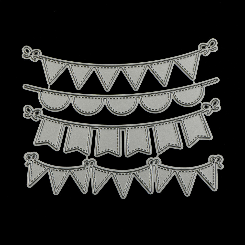 Square Lace Metal Cutting Dies Stencil For DIY Scrapbooking Photo Album Decor ZB