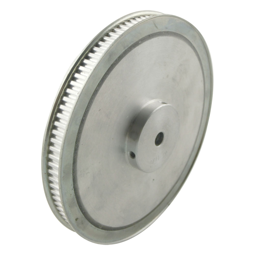 ФОТО Aluminum Alloy XL Type 100 Teeth Timing Pulley 12mm Inner Bore 11mm Belt Width 5.08mm Pitch 100T Synchronous Pulleys
