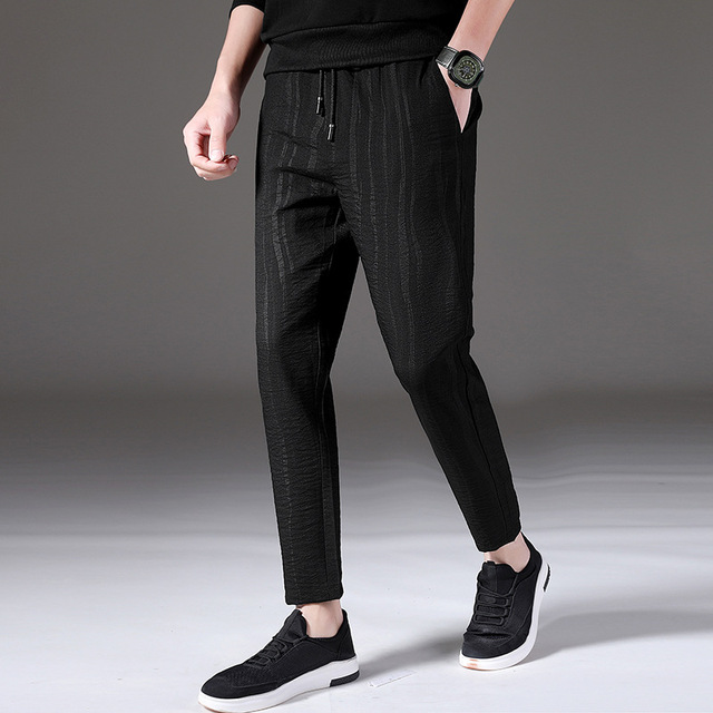 fff6ae4b5e29 MRMT 2018 Brand New Men s Casual Trousers Summer Pants for Male Small Feet  Pants Thin Nine Points Trouser